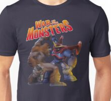 War of the Monsters Cover Art Unisex T-Shirt