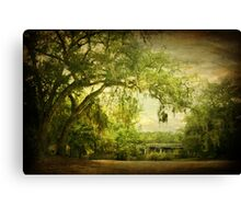Parker Lake Bridge Canvas Print