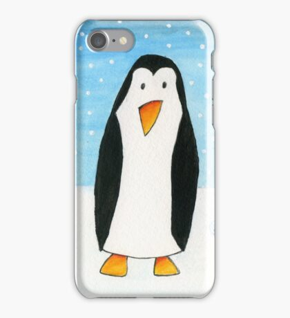Balloon Mouse & Penguin iPhone Case/Skin
