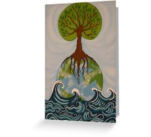 The Ocean is the Beginning of the Earth Greeting Card