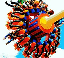 Ride At Coney Island by Funmilayo Nyree