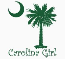 Green Carolina Girl Palmetto Moon by PalmettoTrading