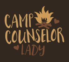 Camp Counselor Lady T-Shirt