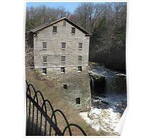 Lanterman's Mill in Spring Poster