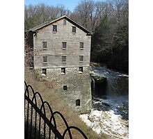 Lanterman's Mill in Spring Photographic Print