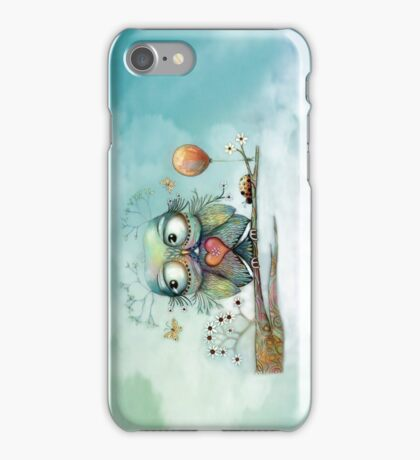 little wood owl iPhone Case/Skin