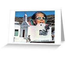 Hostage. Greeting Card