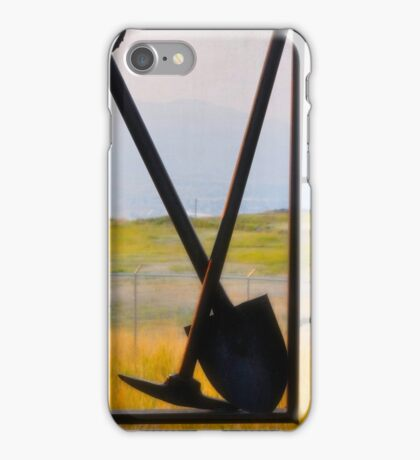 Butte Montana - Pick And Shovel iPhone Case/Skin