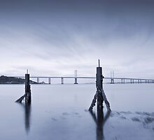 Cool Blue: Kessock Bridge, Inverness by Tim Haynes