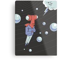 Sharkbait: A Journey Through Time and Space Metal Print