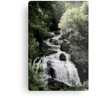 Cullasaja Falls Metal Print