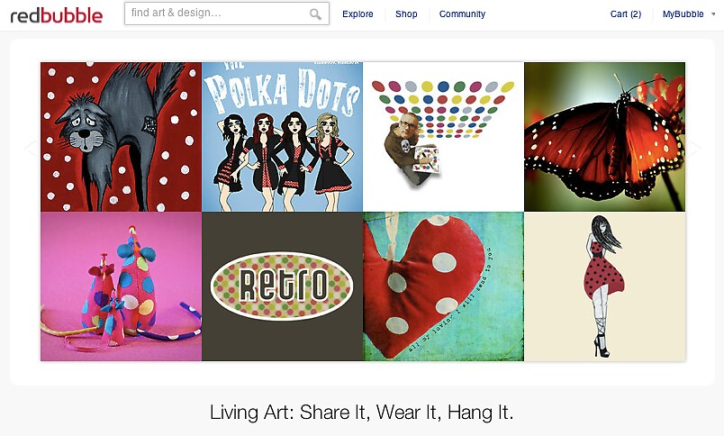 21 April 2011 by The RedBubble Homepage