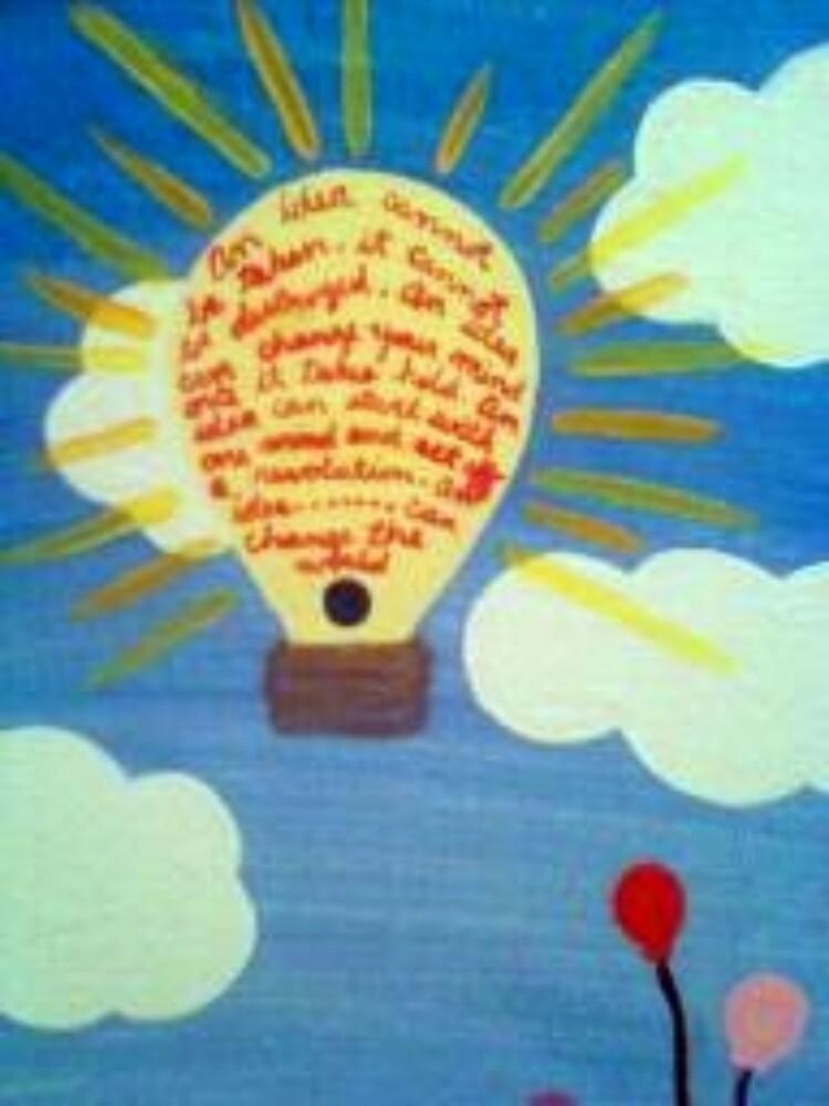 The power of an idea by Dottiedangers