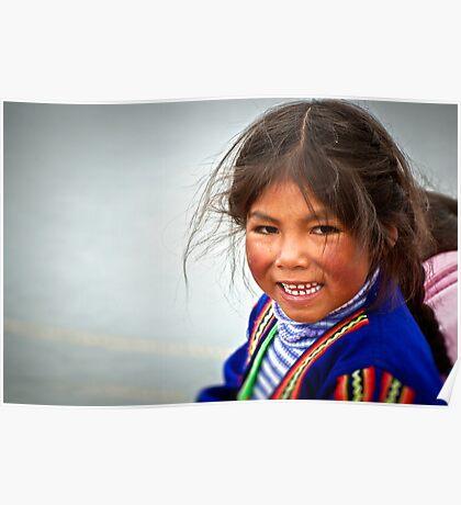 Peruvian Smile Poster