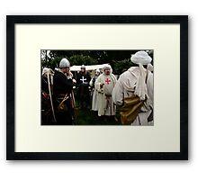 Knights Templar Framed Print