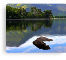 Buttermere Unspoilt Canvas Print