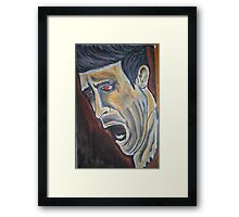 The Pain  Framed Print