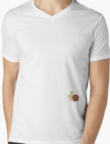 A Subtle Guest Mens V-Neck T-Shirt