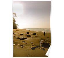 Remote beach Poster