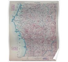 USGS Topo Map Oregon Port Orford 283244 1903 125000 Poster