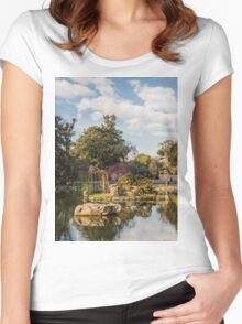 Jardin Japones, Buenos Aires  Women's Fitted Scoop T-Shirt