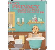 "Carousel of Progress - Uncle Orville - ""No Privacy!"" iPad Case/Skin"
