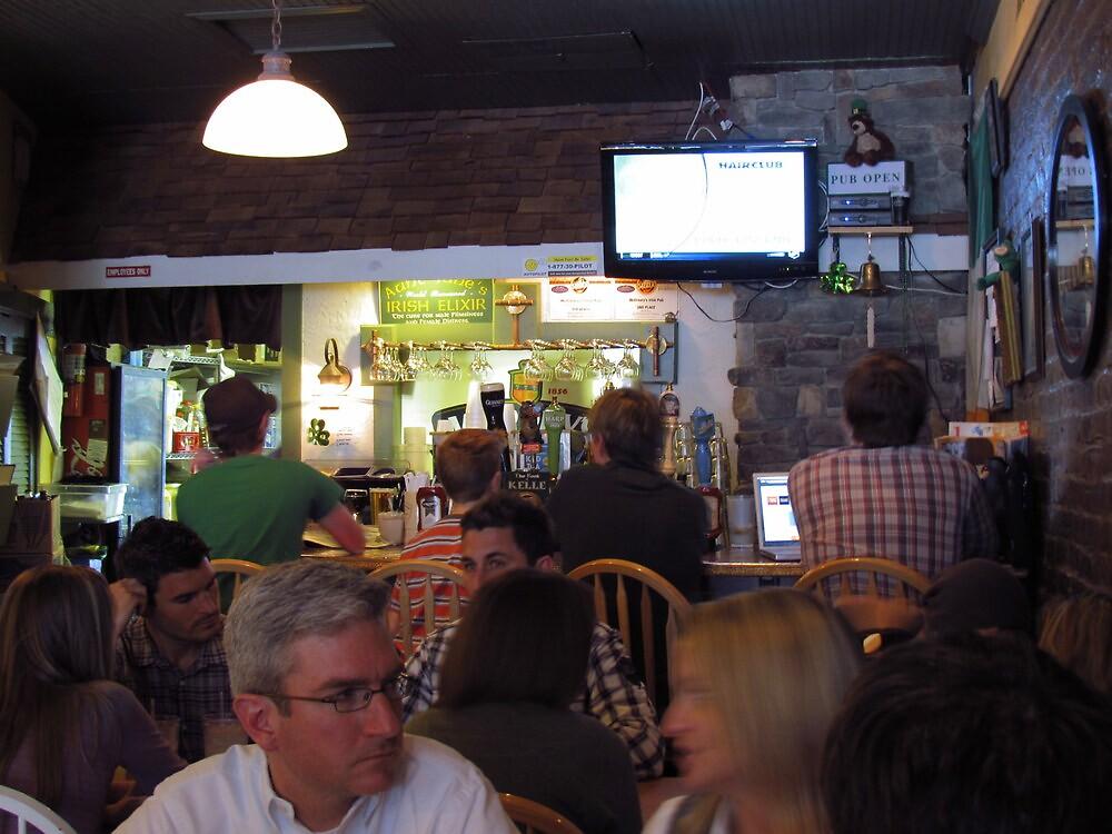 Irish Pub by Patty Gross