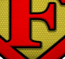The Letter F Returns Sticker