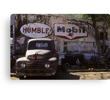 Humble on 66 Canvas Print