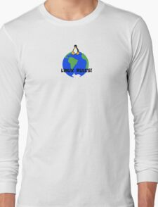 Linux Rules! Long Sleeve T-Shirt