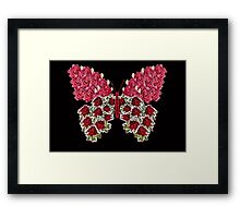 Red Butterfly Framed Print