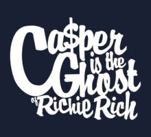 Casper is the Ghost of Richie Rich by roundrobin