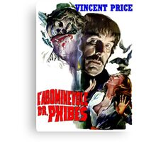 Abominable Dr. Phibes - Vincent Price 1971 Canvas Print