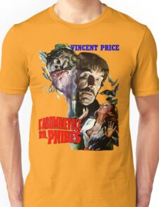 Abominable Dr. Phibes - Vincent Price 1971 Unisex T-Shirt