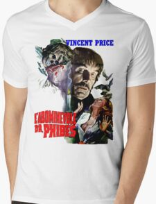 Abominable Dr. Phibes - Vincent Price 1971 Mens V-Neck T-Shirt