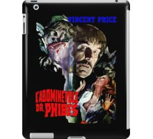 Abominable Dr. Phibes - Vincent Price 1971 iPad Case/Skin