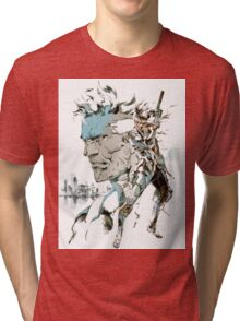 Metal Gear Solid 2: Sons of Liberty  Tri-blend T-Shirt