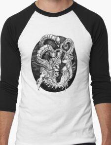 Inspired by Giger Men's Baseball ¾ T-Shirt