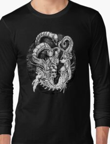 Inspired by Giger Non transparent. Long Sleeve T-Shirt