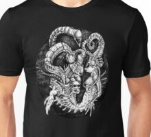 Inspired by Giger Non transparent. Unisex T-Shirt