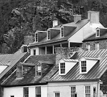 Rooftops by Richard Ruddle