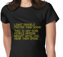 410 Faster Than Sound Womens Fitted T-Shirt