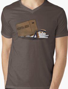 Mewtal Gear Solid Mens V-Neck T-Shirt