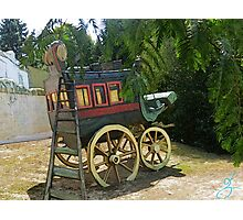 Wagon Ride Photographic Print