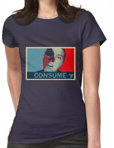 Consume Womens Fitted T-Shirt
