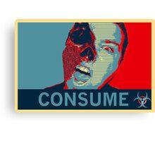 Consume Canvas Print