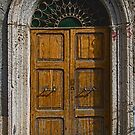 Sgurgola Door in Italy  1 by Warren. A. Williams