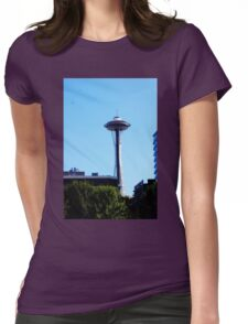 Seattle Space Needle Womens Fitted T-Shirt