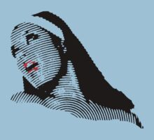 Blue Nun III by TeeArt