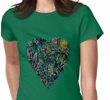 Veggie Love Womens Fitted T-Shirt